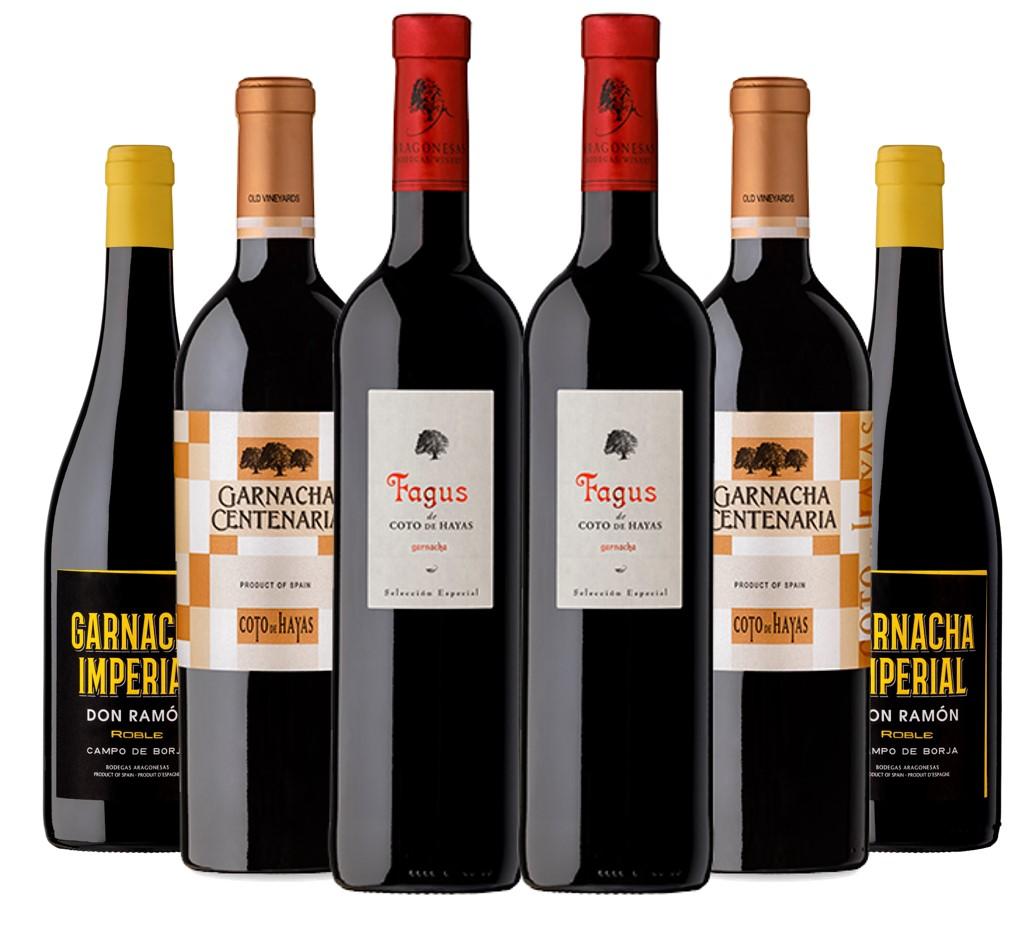 Pack de vinos Garnacha 100%