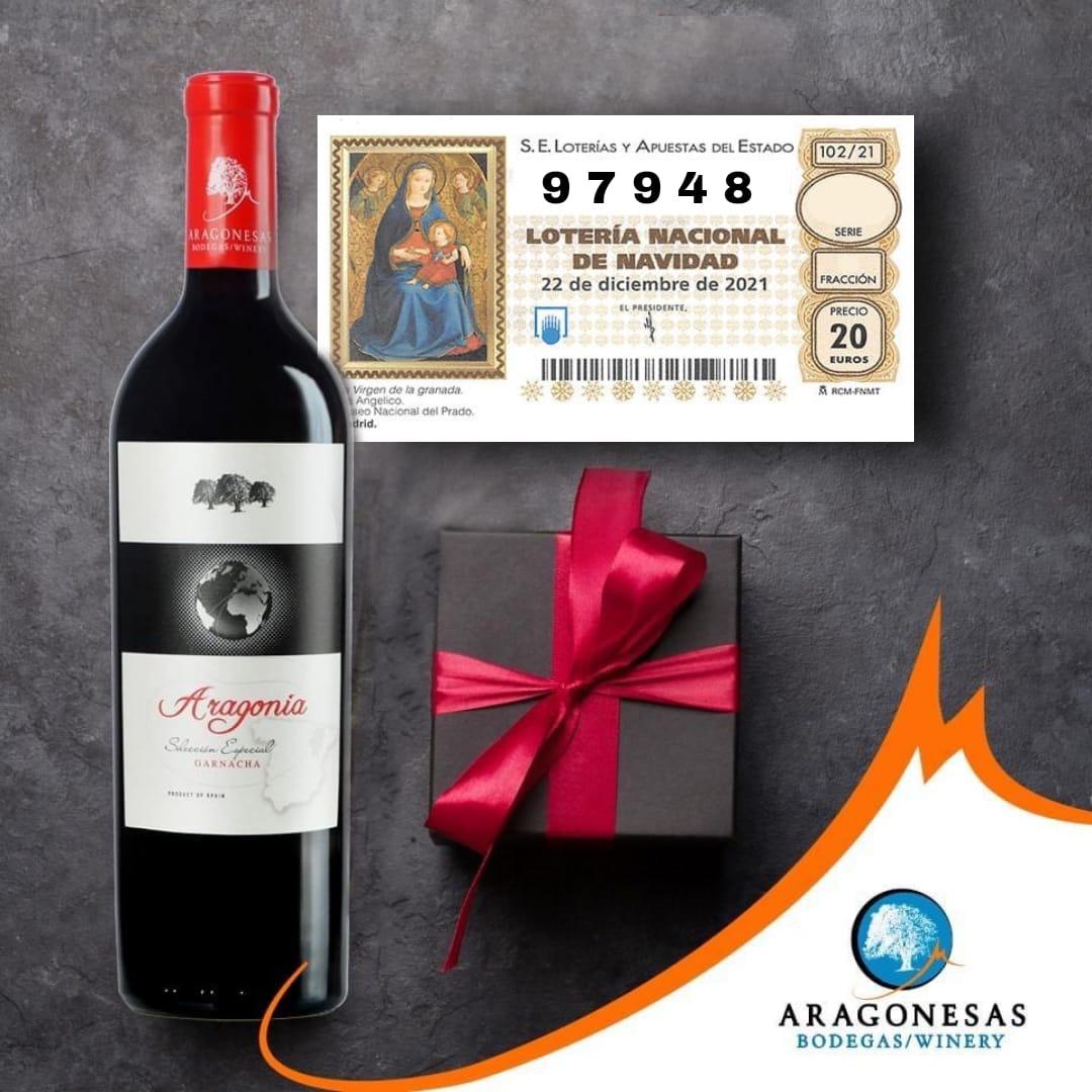 Pack de la suerte de 6 botellas de Aragonia